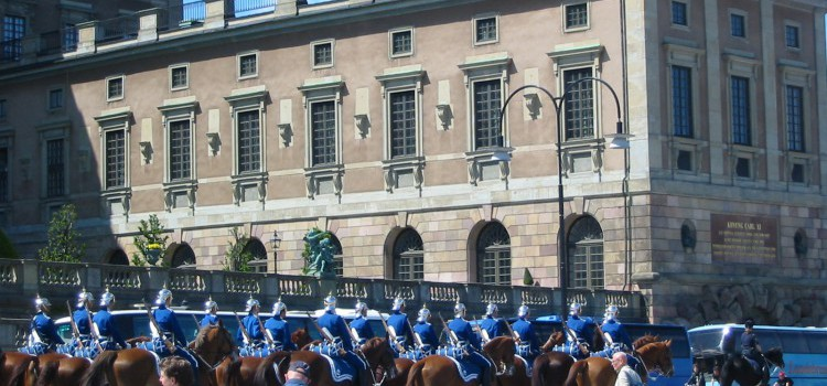 La garde d'honneur
