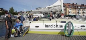Accostage sur l'île de Sandhamn
