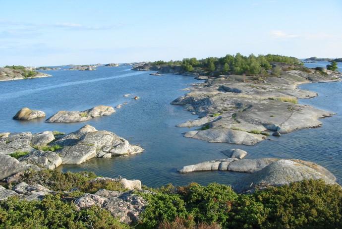 30000 iles dans l'archipl de Stockholm.